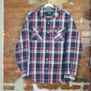J.CREW Heavy Weight Flannel Button Shirt Size S